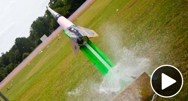 How do you build a water rocket?