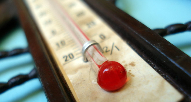 What's the difference between heat and temperature?