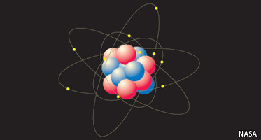 Do atoms continue to live once a living thing dies?