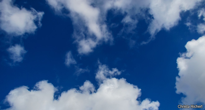 How heavy is a cloud?